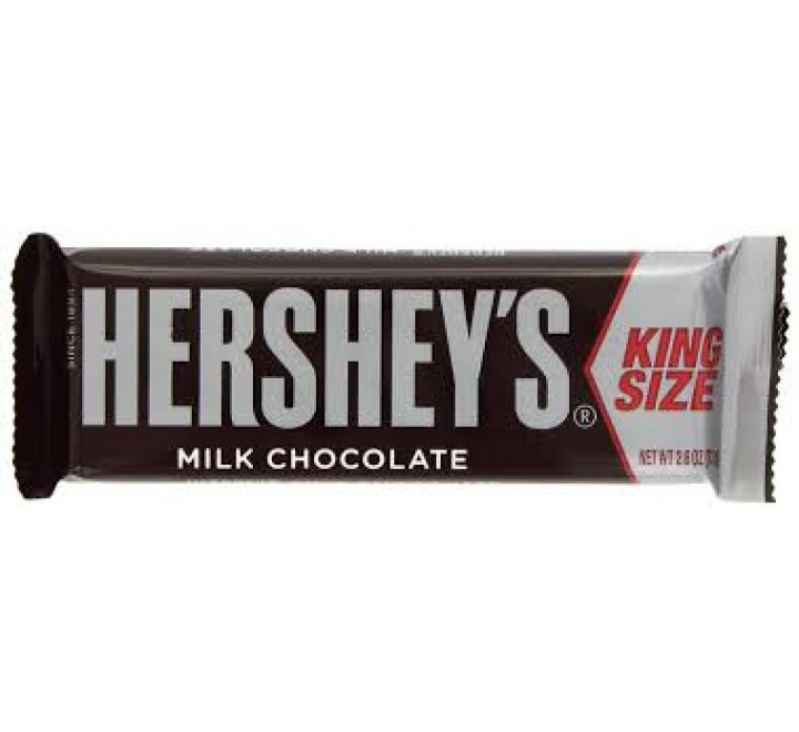 Hershey's Milk Chocolate Bar KingSize (73g)