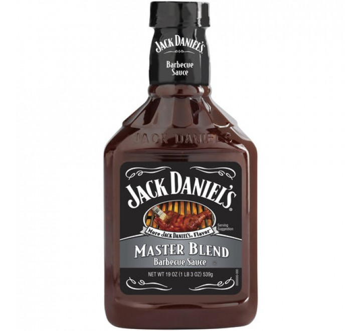 Jack Daniel's Barbecue Sauce, Master Blend Recipe (539g)