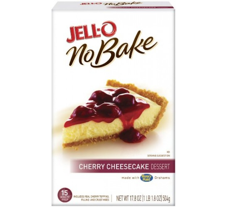 Jell-O No-Bake Cherry Cheesecake Dessert (504g) USfoodz