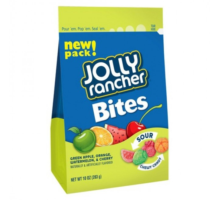 Jolly Rancher Bites Sour Chewy Candy (283g)