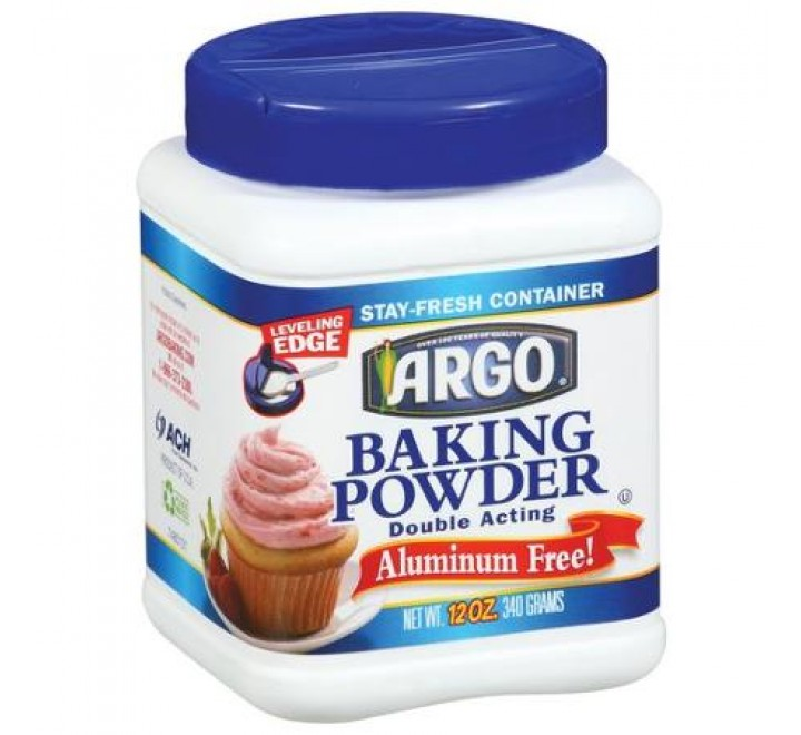 Argo Double Acting Baking Powder (340g)