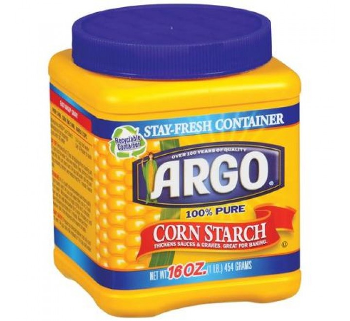 Argo 100% Pure Corn Starch (454g)