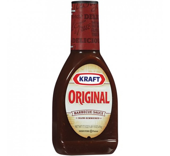 Kraft Original Barbeque Sauce (496g)