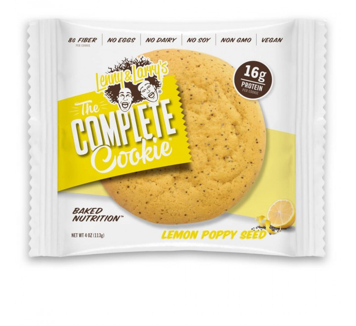Lenny & Larry's - The Complete Cookie 'Lemon Poppy Seed' (113g)