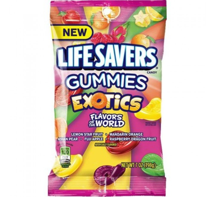 LifeSavers Gummies Exotics (198g)