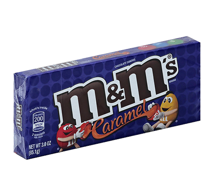 M&M's Caramel Theater Box (85g)