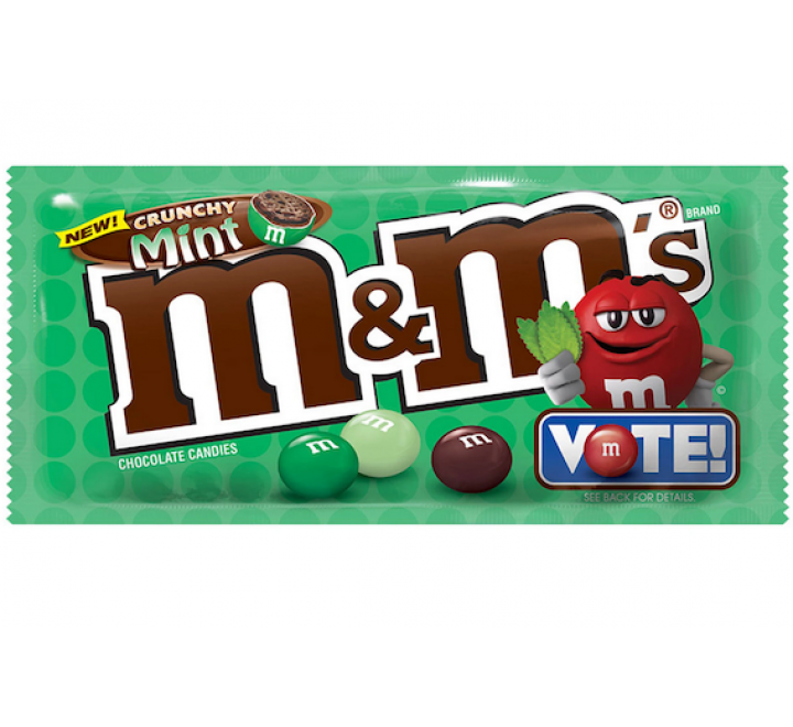 M&M's Crunchy Mint, Share Size (79g)