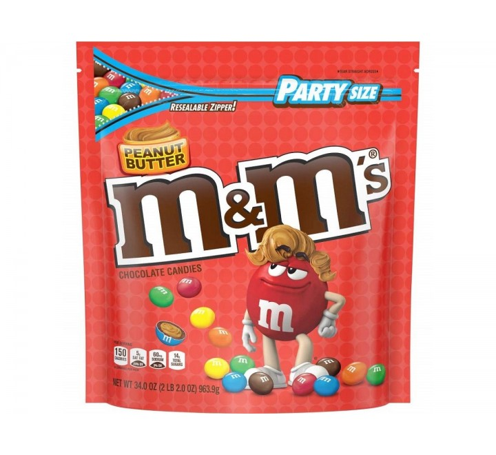 M&M's Peanut Butter, Party Size (963g)