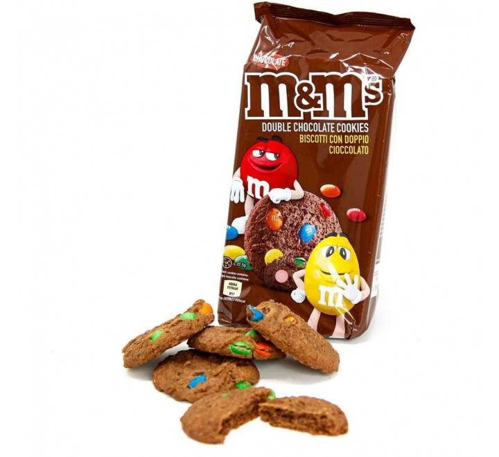 M&M's Cookies Double Chocolate (pack) (180g)