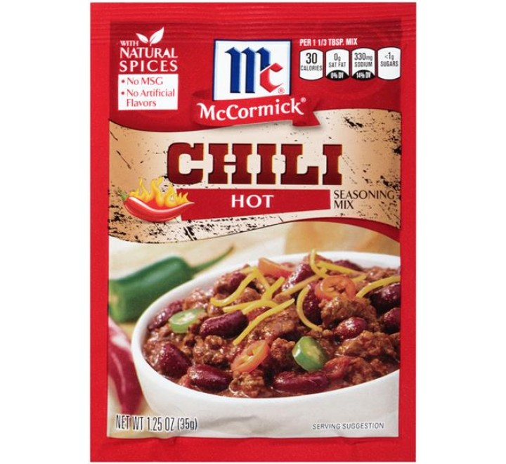 McCormick Chili Hot Seasoning Mix