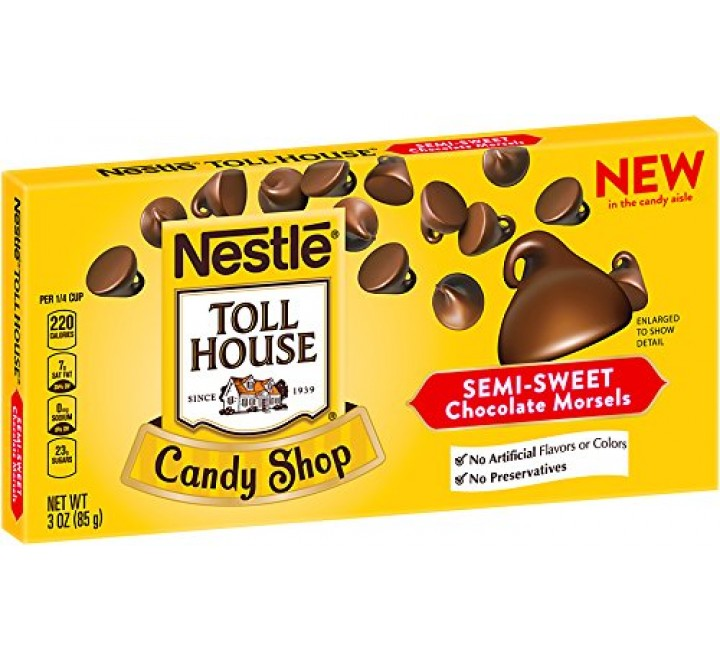 Nestlé Toll House Candy Shop Semi-Sweet Chocolate Morsels (85g) (BEST-BY 11-2017)