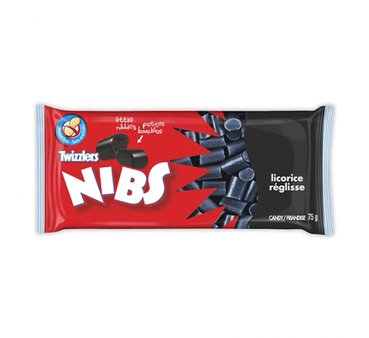 Twizzlers Nibs, Licorice (70g)
