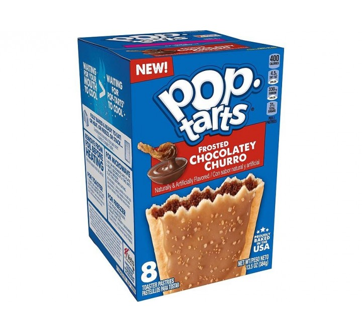 Pop-Tarts, Frosted Chocolatey Churro (384g)(BEST BY 03-4-21)
