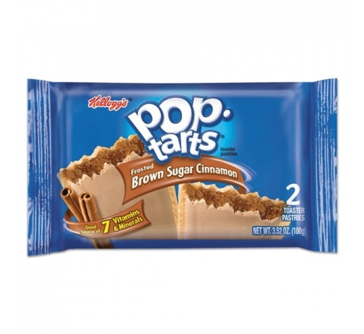 Pop-Tarts Brown Sugar Cinnamon, Frosted (2-Pack) (100g)
