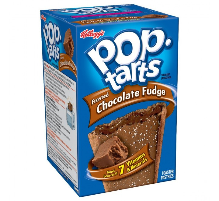 Pop-Tarts Chocolate Fudge, Frosted (416g)