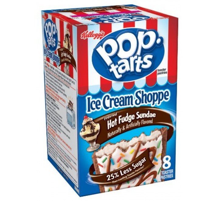 Kellogg's PopTarts Wildlicious Frosted Wild! Berry