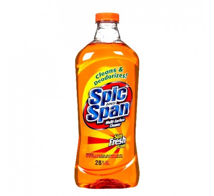 Spic and Span Multi-Surface Cleaner Sun Fresh (828ml)