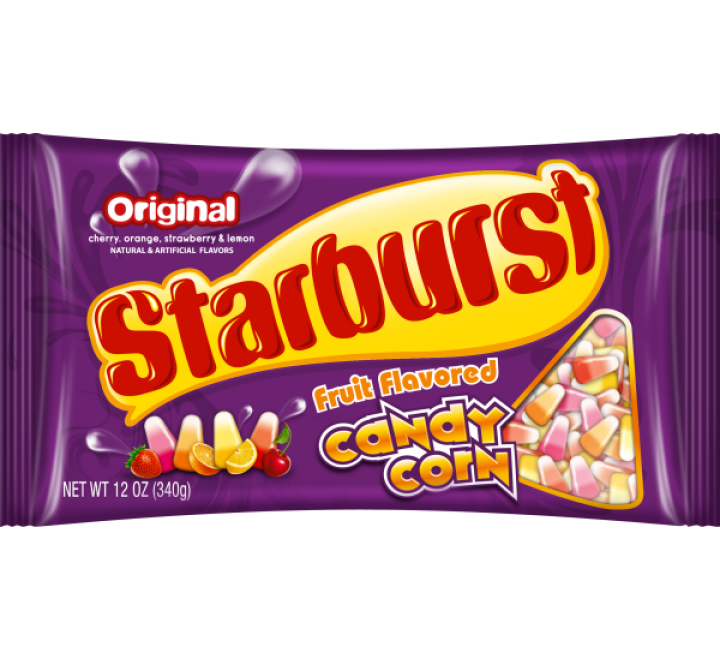 Starburst Original Fruit Flavored Candy Corn (340g)