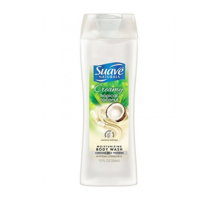 Suave Naturals Moisturizing Body Wash Creamy Tropical Coconut (354ml)