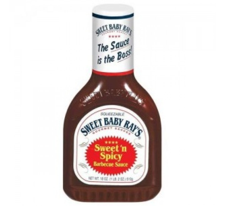 Sweet Baby Ray's Barbecue Sauce, Sweet & Spicy (425ml)
