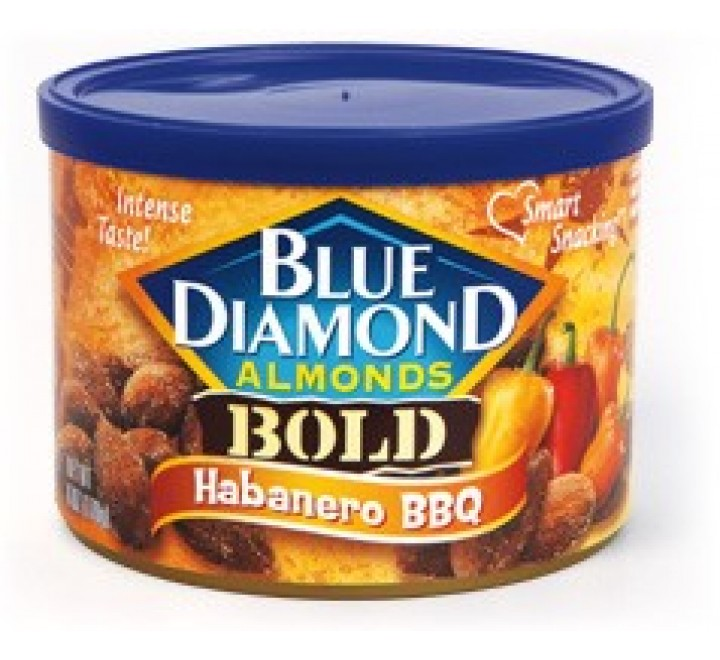 Blue Diamond Habanero BBQ Bold Almonds (150g)