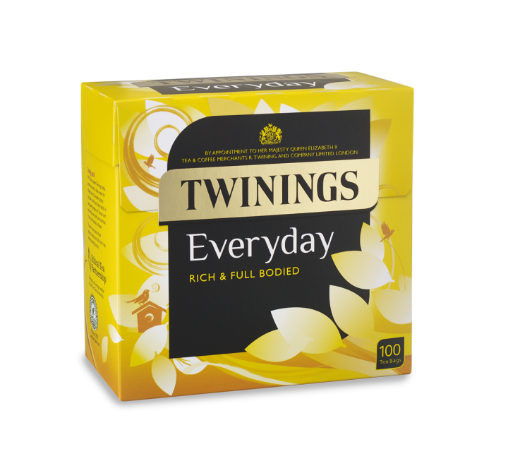 Twinings Everyday Rich & Bodied Tea (100 Tea Bags) (290g)