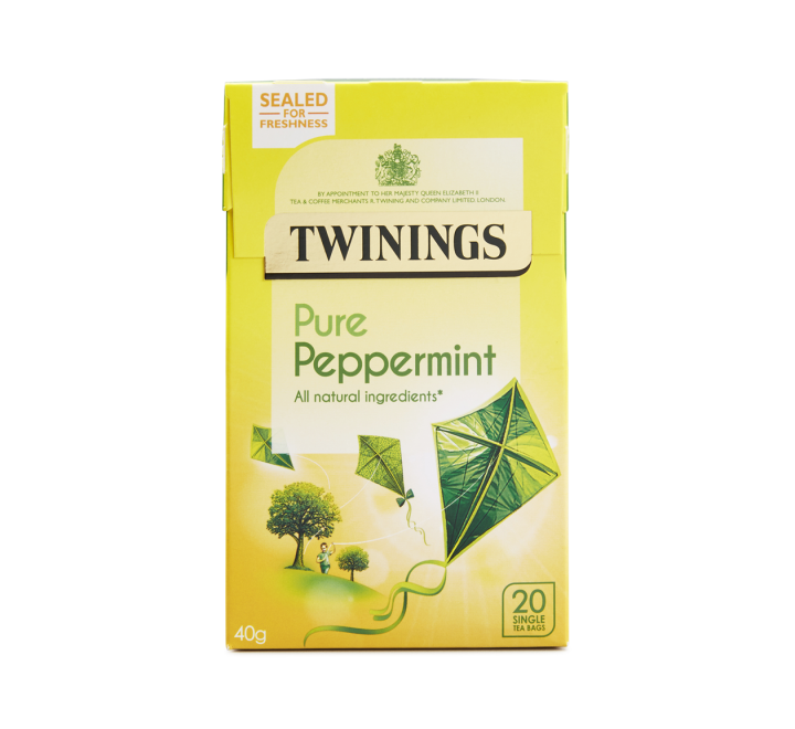 Twinings Pure Peppermint Tea (20 Tea Bags) (40g)