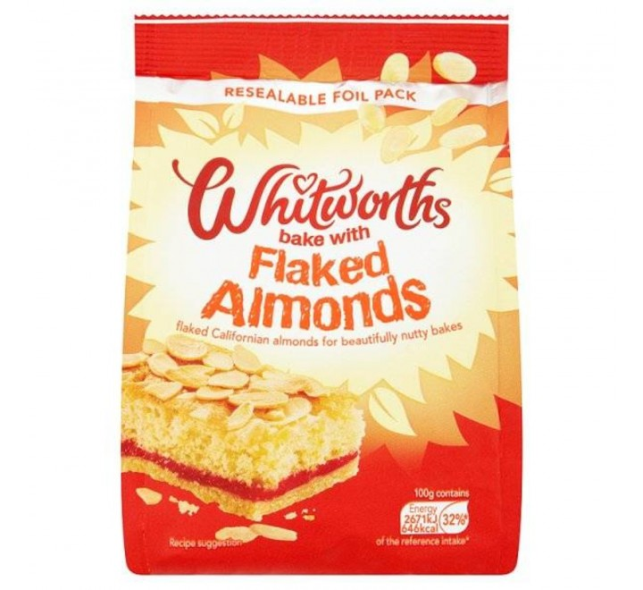 Whitworths Flaked Almonds (150g)