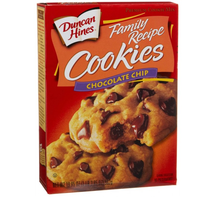Duncan Hines Chocolate Chip Cookies (562g)
