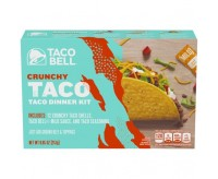 Taco Bell Crunchy Taco Dinner Kit, (12 Count) (BEST BY 19-03-2020)