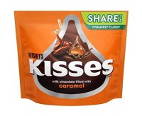 Hershey's Kisses Milk chocolate filled with caramel, Sharepack (286g)