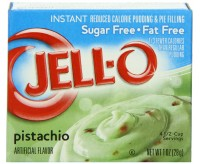 Jell-O Sugar Free & Fat Free, Instant Pudding & Pie Filling, Pistachio (28g) (BEST BY 11-02-17)