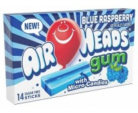 Air Heads Gum, Blue Raspberry (34g)