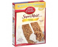 You can easily bake a tasty American cake with this Carrot Cake Mix from Betty Crocker. Don't forget to buy a frosting to get that perfect combination!