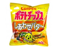 Calbee Shiawase Potato Chips, Honey & Butter