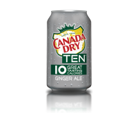 Canada Dry Ginger Ale TEN (355ml)