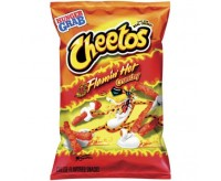 Cheetos Crunchy Flamin' Hot Bag (227g)