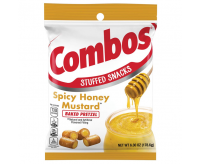 Combos Stuffed Snacks, Spicy Honey Mustard Baked Pretzel (178g)