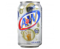A&W Cream Soda Diet (355ml)