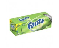 Fanta Green Apple 12 Cans Fridgepack (355ml)