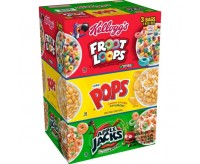 Triple Pack Cereal: Froot Loops - Corn Pops - Apple Jacks (1.47kg)