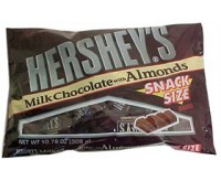 Hershey's Milk Chocolate Almond Snack Size Bars (Limited Edition)