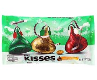 Hershey's Kisses, Milk Chocolate With Almonds (226g)
