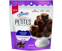 Hostess Bakery Petites, Chocolate Chunk Brownie Delights (230g)
