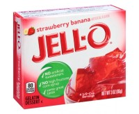 Jell-O Gelatin Dessert, Strawberry Banana (85g)