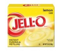 Jell-O Lemon Instant Pudding & Pie Filling (96g)