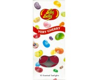 Jelly Belly 10 scented Tealights, Very Cherry