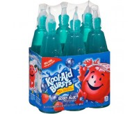 Kool-Aid Bursts Berry Blue Soft Drink, 6-Pack (1.2L)