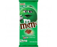 M&M's Minis Chocolate Bar, Crispy Mint (107g)