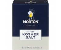 Morton Coarse Kosher Salt (1,36kg)
